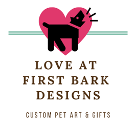 Love At First Bark Designs - Personalized Pet Art & Gifts